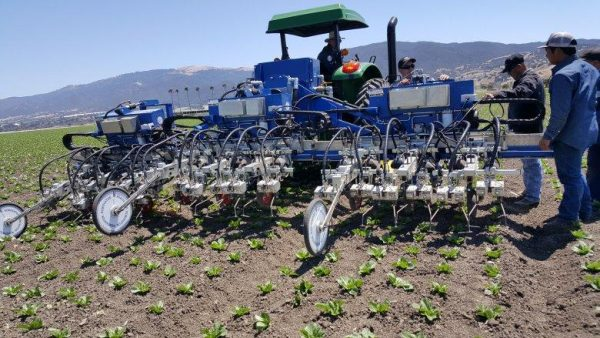 Automation is beginning to make an appearance in the agriculture industry as the demand for various types of food increase. (Image: Successful Farming)