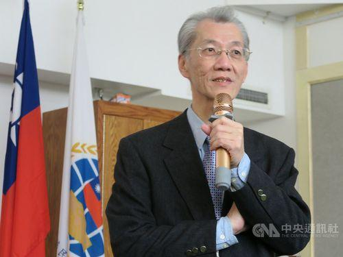 Prof. emeritus Ming Chu-cheng, of National Taiwan University, believes that political division in Taiwan only helps the Chinese Communist Party achieve its goal of bringing the island under its influence. (Image: via Central News Agency)