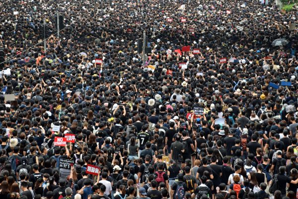 Hong Kong Protesters, Power to the people