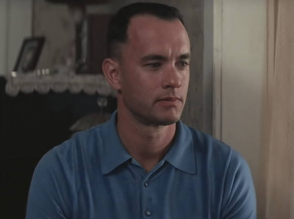 Forrest Gump became a box-office hit in the mid-90s. It's positive messages about friendship, loyalty, and the breaking down of stereotypes and racial divides helped define and shape our culture. (Image: YouTube/Screenshot)