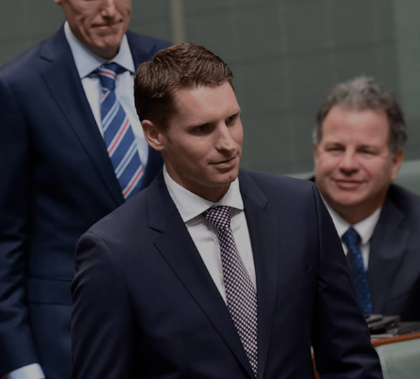 Andrew Hastie has warned about China's rise. (Image: andrewhastie.com)