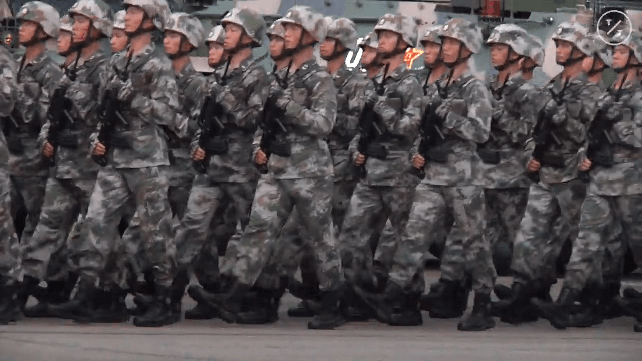 There are also measures to restrict members of the People's Liberation Army and executives of state-owned enterprises from entering the United States. (Image: Screenshot / YouTube)