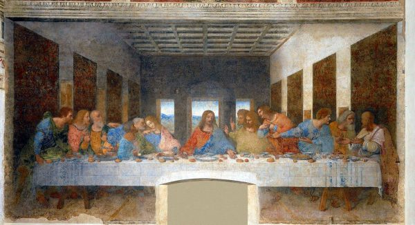 "Leonardo Da Vinci called it the ""divine proportion"" and used it extensively in his works such as The Last Supper to achieve balance and beauty; the ratio was believed to be most pleasing to the eye. (Image: wikimedia / CC0 1.0)"