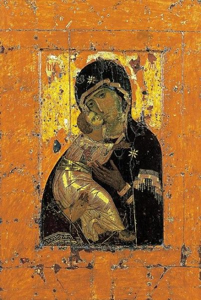 The holy icons that were put into the bee boxes also had their own vibrational frequency. (Image: wikimedia / CC0 1.0)