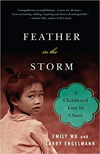 Feather in the Storm: A Childhood Lost in Chaos by Emily Wu. (Image: Amazon)