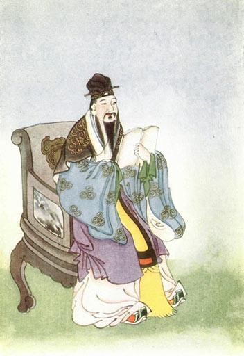 Mencius, from Myths and Legends of China, 1922 by E. T. C. Werner. (Image: wikimedia / CC0 1.0)