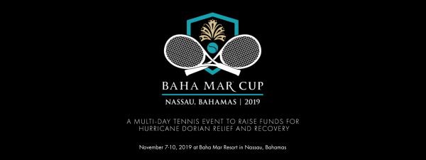 The three-day exhibition match will take place on the nine tennis courts of the new luxury resort, Baha Mar, and will be joined by not-yet-announced celebrities, across the Abacos and Grand Bahama islands. (Image: bahamar.com)