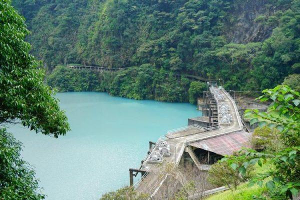 The Wujie Dam (武界壩) in Taiwan's Nantou County. (Image: Onetrip.pixnet.net)