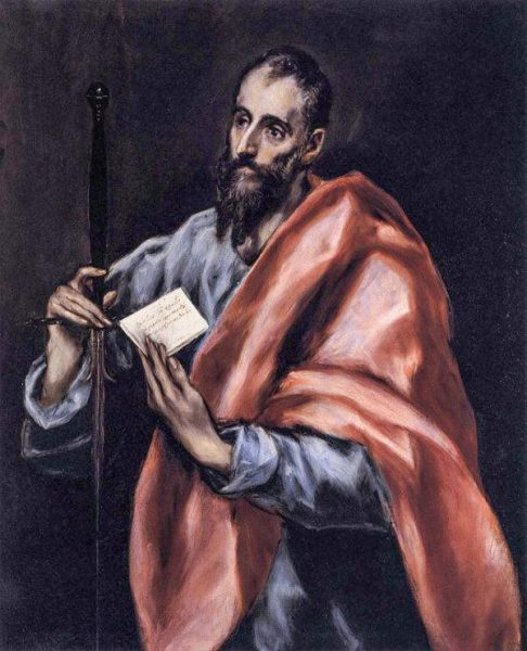 Spanish painter El Greco painted the image of St. Peter, and São Paulo held a sword (symbolizing his martyrdom), holding a letter. (Image: Public Domain)