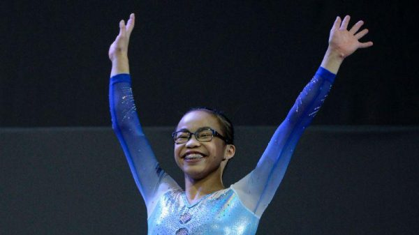 At the Gymnastics World Championships in Montreal, Canada in October 2017, Hurd won the World all-around individual championship at the age of 16, which is her first world championship. (Image: Metiza Magazine)