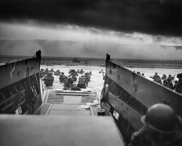 This was one of the scenes before the amphibious landings at Normandy during World War II. (Image: wikimedia / CC0 1.0)