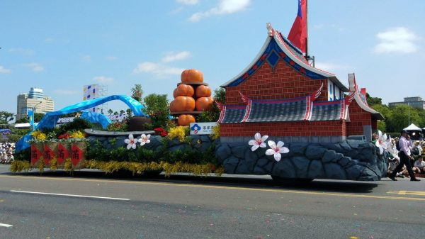 A float featuring Hakka Culture at the 2019 Double Tenth National Day celebration. (Image: Courtesy of Ljj Lamb)