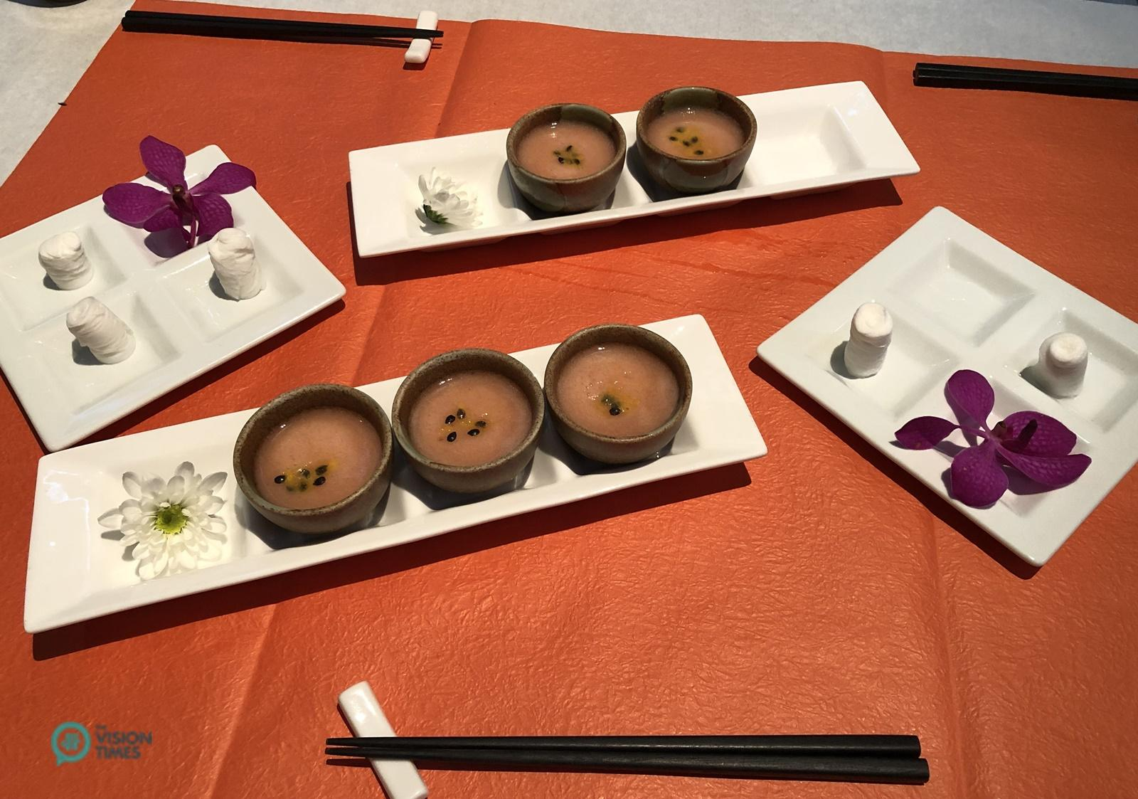 The food in Shi Yang Shan Fang is pleasing to both the eye and palate. (Image: Julia Fu / Vision Times)
