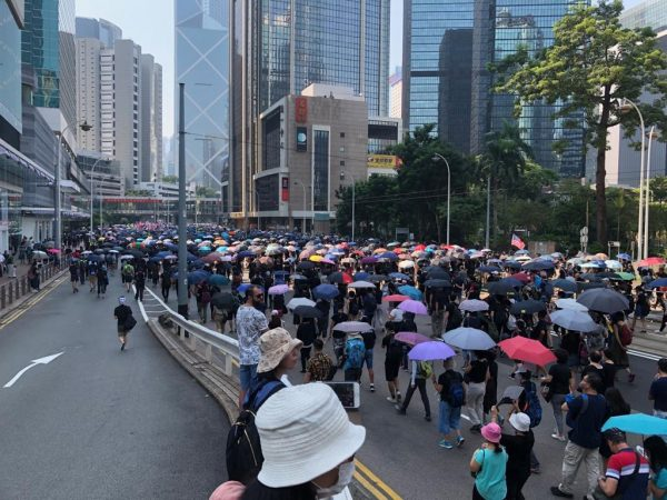 Hong Kong Protesters October 1st