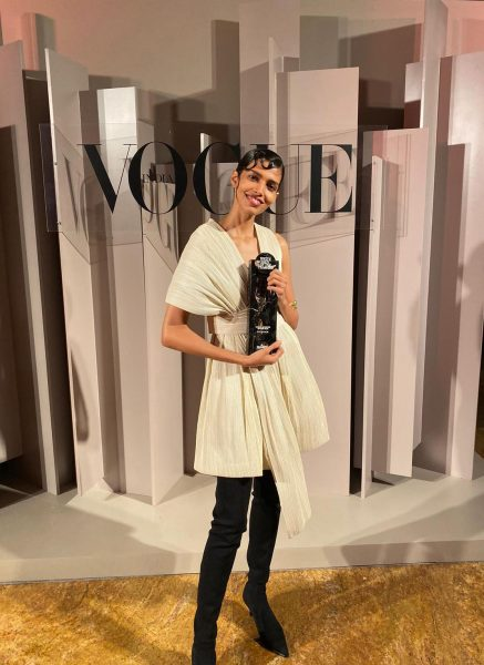 Supermodel Pooja Mor at the Vogue Women Of The Year 2019 on Oct. 19, 2019. (Image: Courtesy of Pooja Mor)