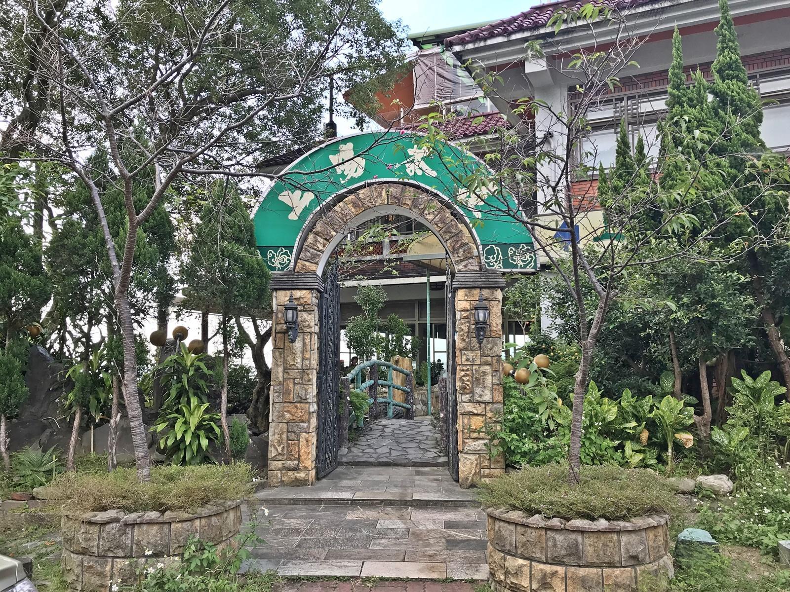 The Shang Yang Tea House at Taipei's Monkong. (Image: Billy Shyu / Vision Times)