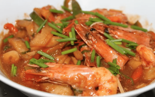 Sweet and Sour Prawns (Image: Vision Times)