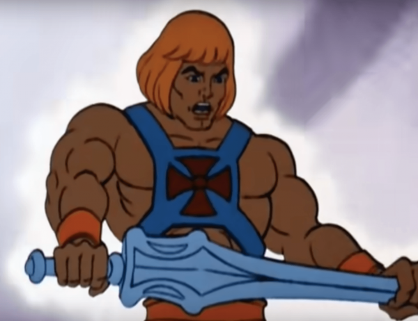 The 80s saw the rise of superhero cartoons such as He-Man. (Image: YouTube/Screenshot)