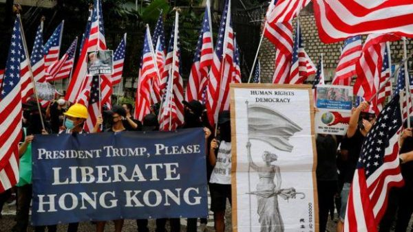 In a bid to protect Hong Kong's democracy, the U.S. Congress passed and the President has signed the Hong Kong Human Rights and Democracy Act of 2019. (Image: YouTube/Screenshot)