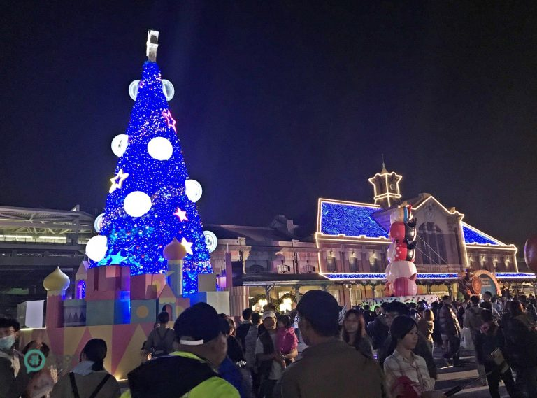 """The """"2019 Taichung Christmas Dream"""" events held at Taichung Old Station. (Image: Julia Fu / Nspirement)"""