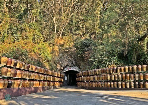 "The ""Tunnel 88"" (八八坑道) in Matsu's Nangan. (Image: Billy Shyu / Vision Times)"