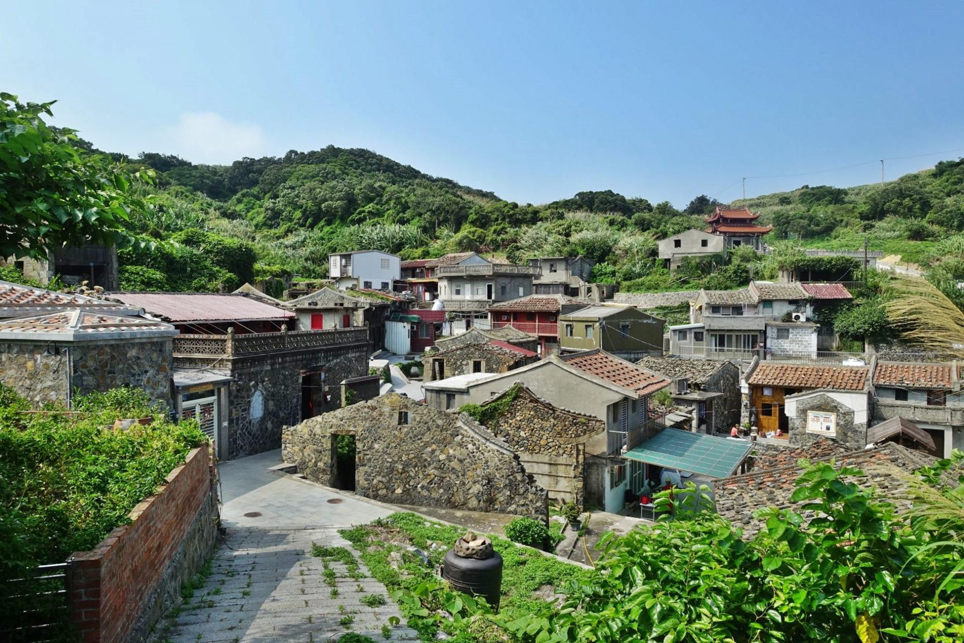 The Tianwo Village in Matsu's Xiju Island. (Image: Courtesy of Chen Kuo-Da)