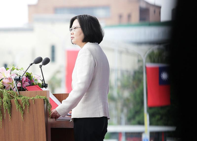 Experts and political analysts claim that Tsai Ing-wen's flattening victory is no coincidence. (Image: 總統府 via flickr CC BY 2.0 )