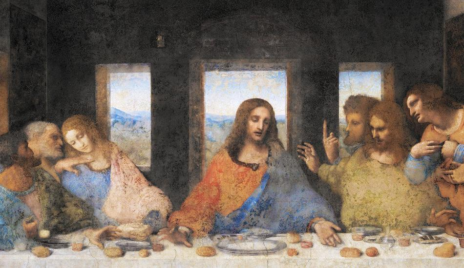 The Last Supper is one of Leonardo Da Vinci's most popular works. (Image: pixabay / CC0 1.0)