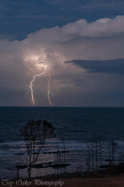 Lightning will most likely be the most dangerous natural phenomena you will try and photograph. (Image: ©The Lightning Guy)