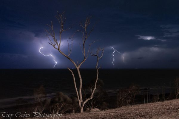 A lightning image captured with patience and skill, including proper exposure, is likely to have a stronger impact. (Image: ©The Lightning Guy)