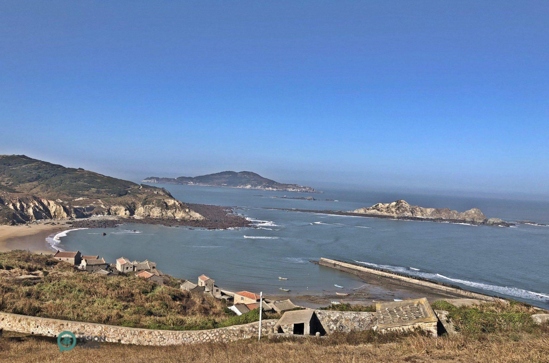 A fishing village in Matsu's Dongju Island. (Image: Billy Shyu / Vision Times)
