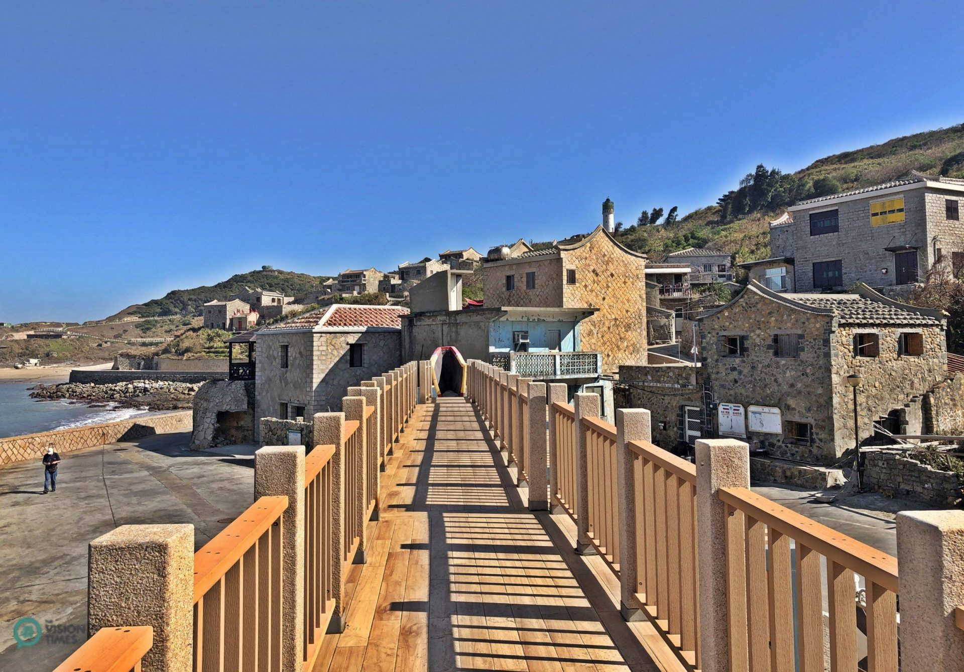 The Fuzheng Village in Matsu's Dongju. (Image: Billy Shyu / Vision Times)