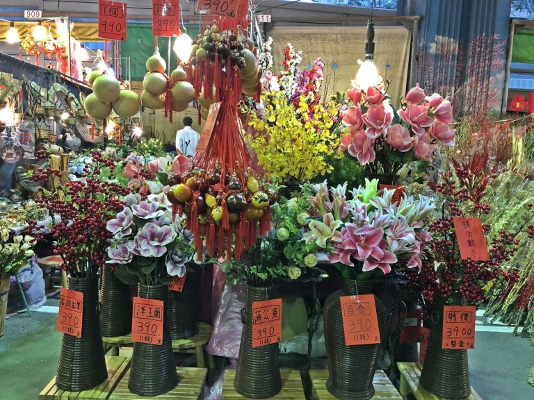 There are a wide varieties of beautiful flowers and plants sold at the floral bazaar in Taipei. (Image: Billy Shyu / Nspirement)