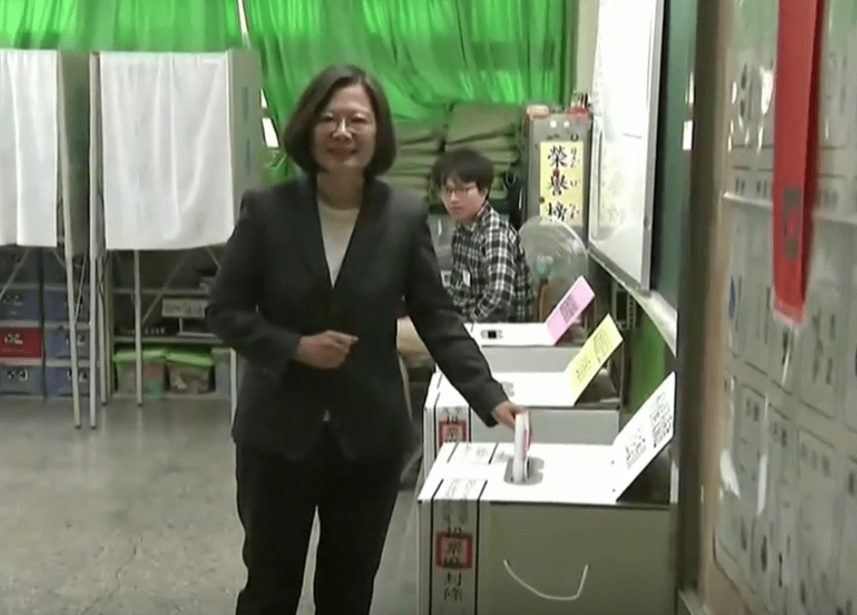 The pervasive belief is that this election would determine whether or not Taiwan can continue on its path of democracy and freedom. (Image: YouTube/Screenshot)