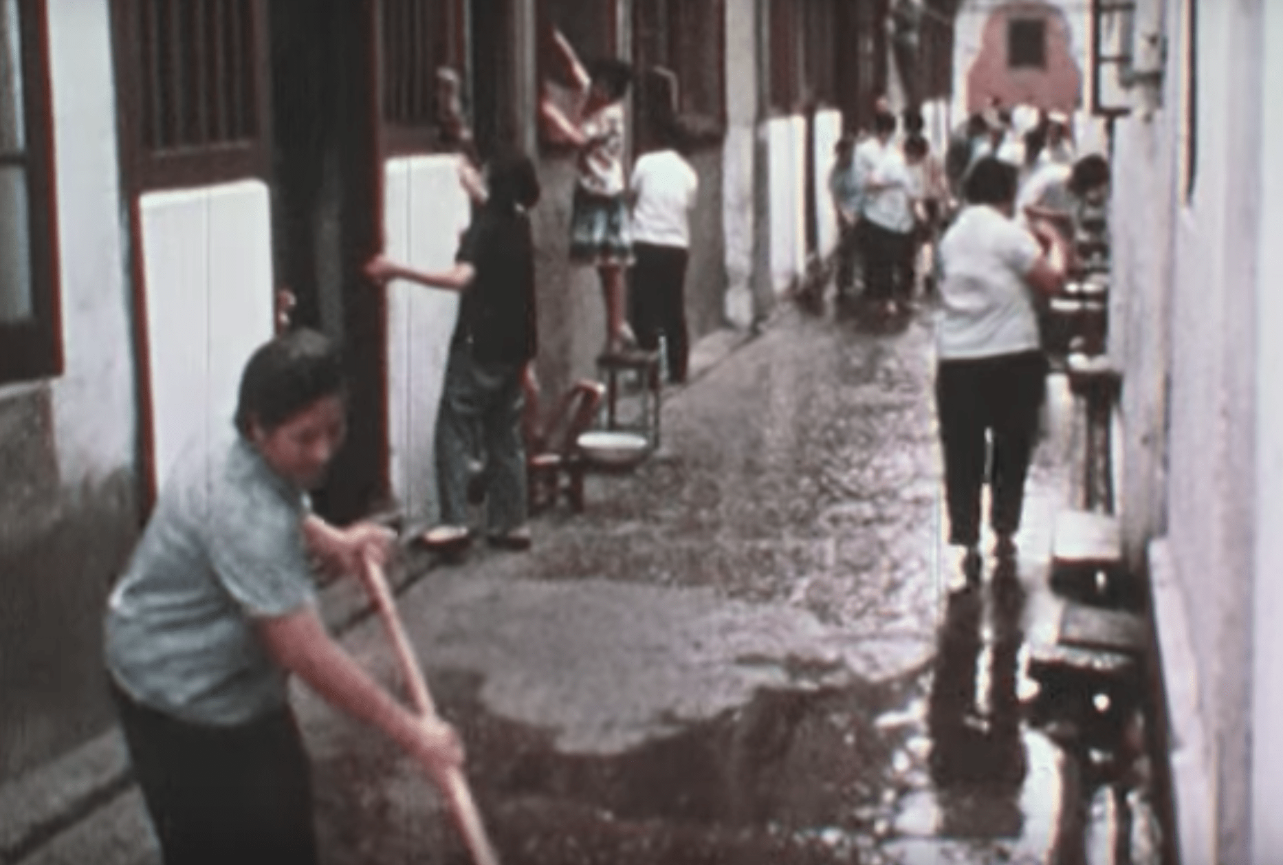"""The Old City would become precious to me, with its green lake, teahouses, and narrow """"blood alleys"""" that were suicidal to walk during the 1930s. (Image: YouTube/Screenshot)"""