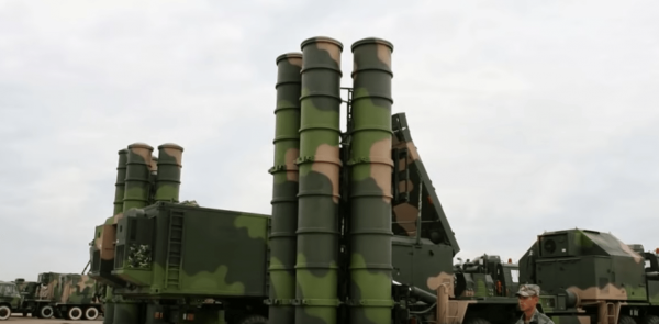 China and Iran engage in military relations as well, such as the former selling tactical ballistic missiles and anti-ship cruise missiles. (Image: YouTube/Screenshot)