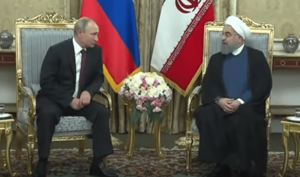 Moscow and Tehran have built a foundation since the late 1990s. (Image: YouTube/Screenshot)