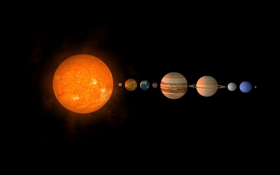 Go the other direction toward Jupiter and beyond, however, and a different picture emerges: Almost everything in this distant part of the solar system is made up of materials that are rich in carbon. (Image: via pixabay / CC0 1.0)
