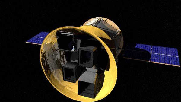 Artist concept of Transiting Exoplanet Survey Satellite. Image: NASA's Goddard Space Flight Center/Chris Meaney)