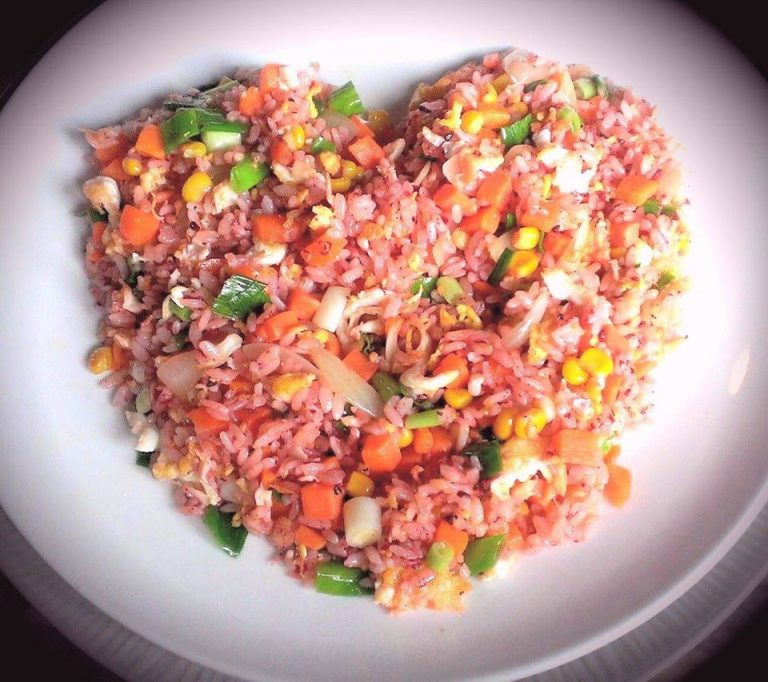 The fried rice served at Furen Cafe in Matsu's Nangan Island. (Image: Courtesy of Furen Cafe)