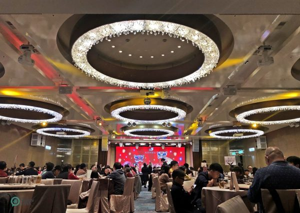 Many familiies have their Lunar New Year's Eve reunion dinner at the restaurant of a five-star hotel in Taipei City. (Image: Billy Shyu / Vision Times)