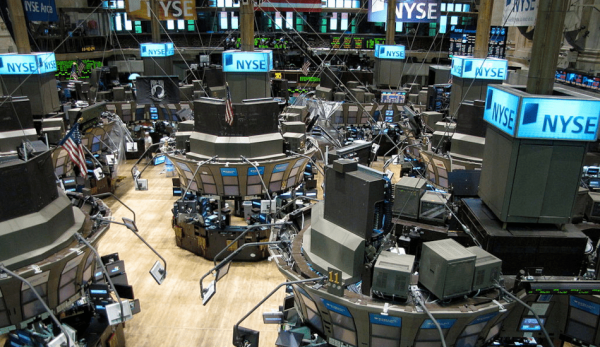 Global markets fell on February 24 as investors worried that the economic disruption the outbreak has already caused in China might have a wider impact. (Image: Kevin Hutchinson via wikimedia CC BY 2.0 )