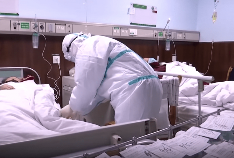 Hospitals in Wuhan have struggled to cope with crowds of patients who have fevers and may have contracted the virus, called 2019-nCoV. (Image: YouTube/Screenshot)