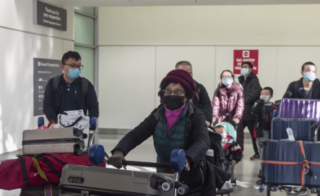 Chinese abroad become targets of suspicion over coronavirus. (Image: YouTube/Screenshot)