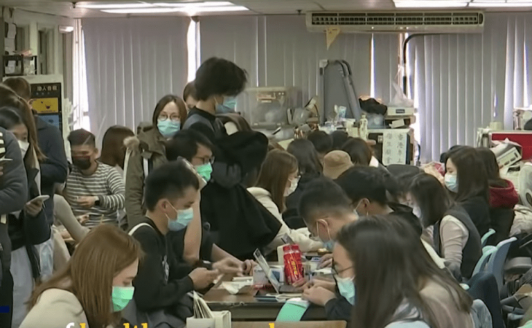 Health care workers in Hong Kong are prepared to strike. (Image: YouTube/Screenshot)