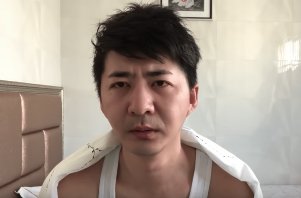 Chen Qiushi, a citizen journalist who had been reporting on the coronavirus outbreak in Wuhan, could no longer be reached by friends and family since February 6. (Image: YouTube/Screenshot)