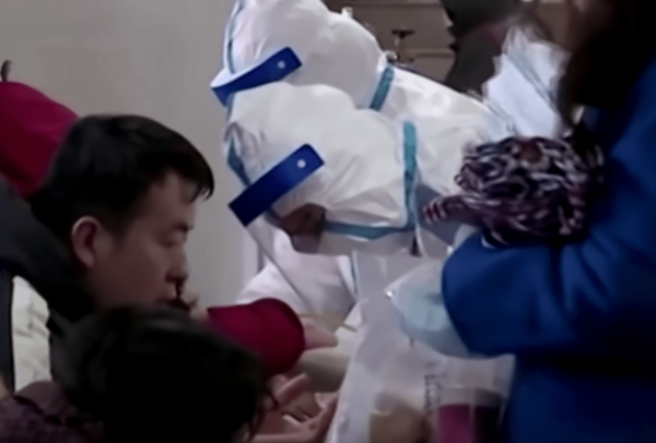 Across China, six medical workers have died and 1,716 have been infected since the outbreak. (Image: YouTube/Screenshot)