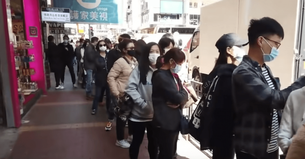 The World Health Organization said there was no major shift in the virus's pattern of mortality or severity, despite a spike in cases in Hubei province. (Image: YouTube/Screenshot)