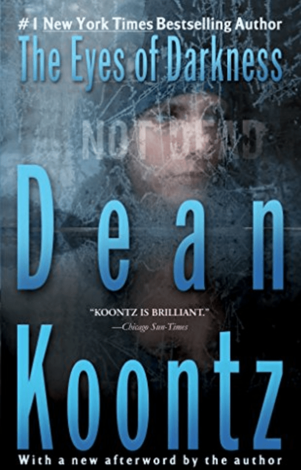 The Eyes of Darkness is a thriller novel by American writer Dean Koontz, released in 1981. (Image: Abe Books)