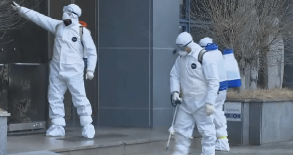 South Korea on February 24 reported 231 more cases of the virus that causes the disease Covid-19, bringing the nation's total to 833 cases and seven deaths. (Image: YouTube/Screenshot)